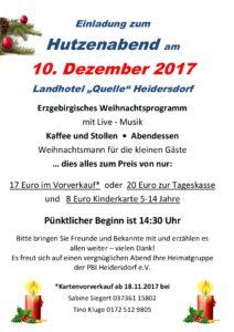 """Hutzennachmittag @ Landhotel """"Quelle"""""""