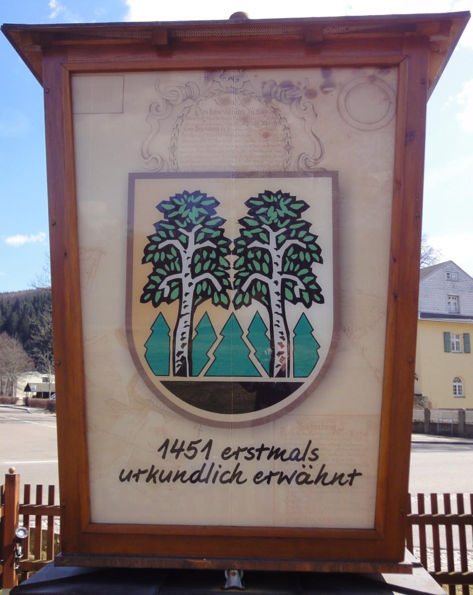 Laterne Motiv Wappen