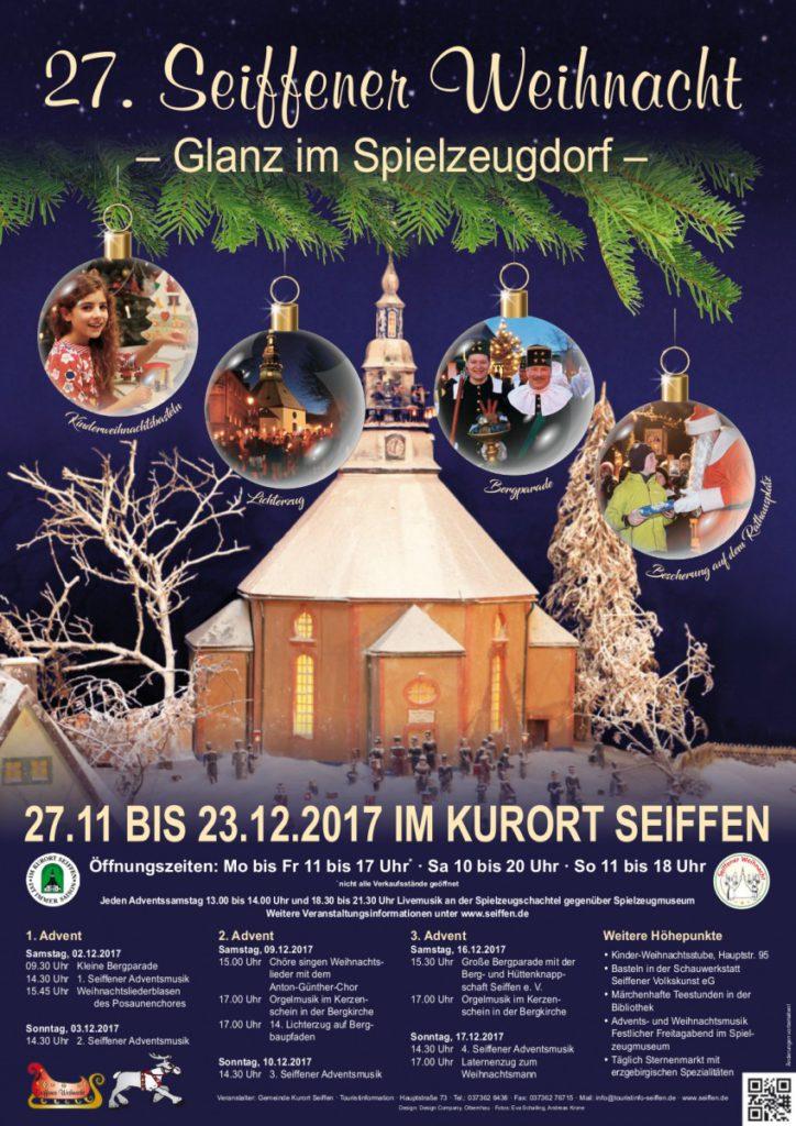 Große Bergparade Weihnachtsmarkt Seiffen @ Seiffener Weihnachtsmarkt
