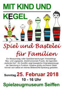 Spiel und Bastelei für Familien @ Spielzeugmuseum Seiffen