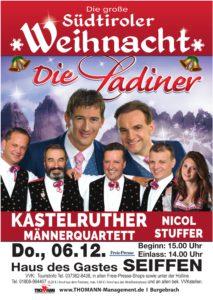 Die große Südtiroler Weihnacht - Die Ladiner @ Haus des Gastes Seiffen