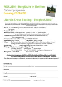 Nordic Cross Skating - Berglauf 2018 @ Sportwelt Preußler