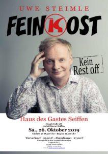 FEINKOST - von und mit Uwe Steimle @ Haus des Gastes