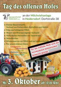 Tag des offenen Hofes @ Milchviehanlage / Milchtankstelle