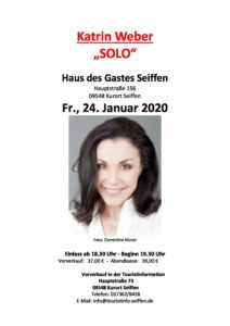 "Katrin Weber ""SOLO"" @ Haus des Gastes Seiffen"