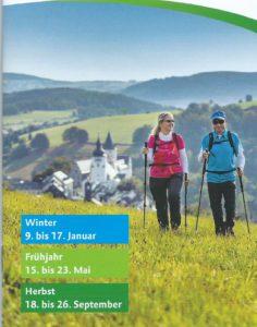 Wanderung Mertzengrund und Niederseiffenbach @ Gemeinde Heidersdorf, Wegewart