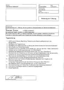 Sitzung des Gemeinderates Heidersdorf @ Landhotel Quelle | Heidersdorf | Sachsen | Deutschland