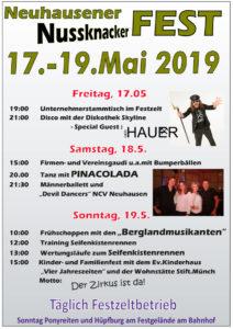Neuhausener Nussknacker Fest 2019 @ Neuhausen Stadt