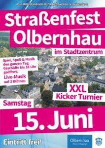 Straßenfest Geschäfte bis 18 Uhr geöffnet @ Stadt Olbernhau