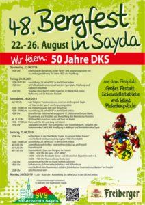 48. Bergfest Sayda @ SVS Stadtverein Sayda