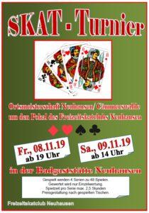 SKAT - Turnier Neuhausen / Cämmerswalde @ Badgaststätte Neuhausen