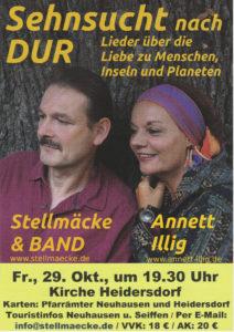 Sehnsucht nach DUR (Liederabend) @ Kirche Heidersdorf